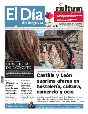 Portada El Dia de Segovia